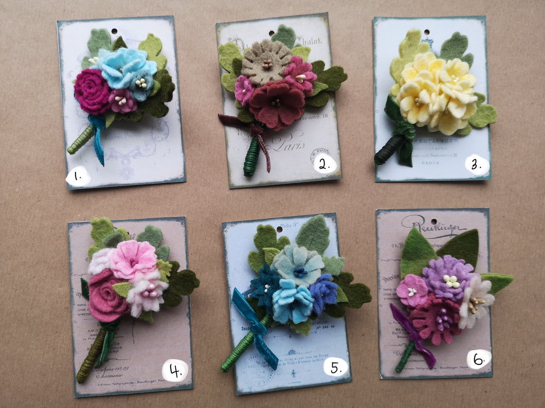 Posy Brooches
