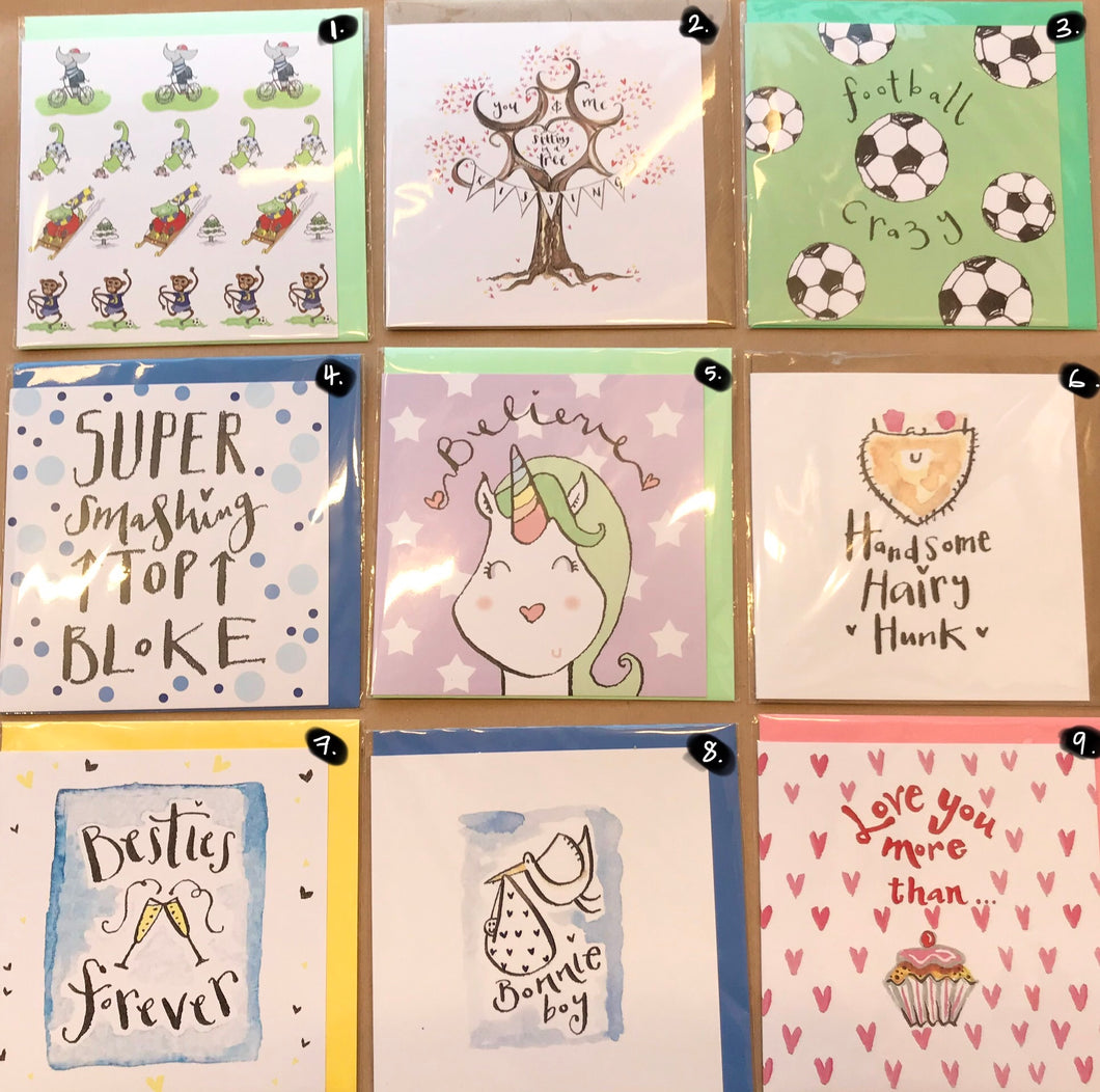 The Illustrated Tree Co CARDS