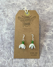 Load image into Gallery viewer, Snowdrop Bead Earrings