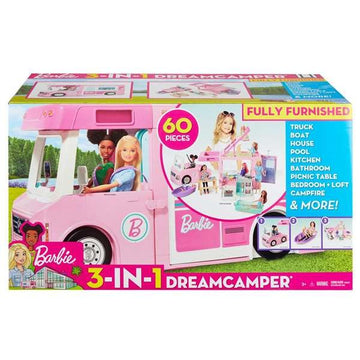 Autocamper Barbie (60 pcs)