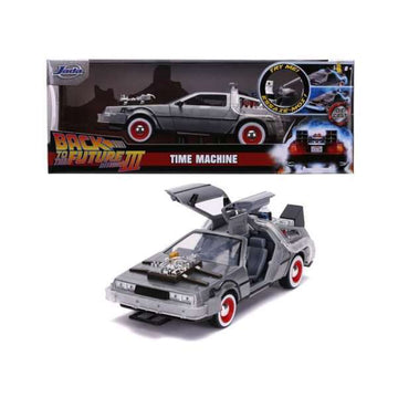 Bil DeLorean Back to the Future III Simba 1:24