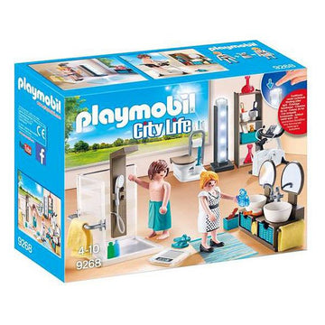 Playset City Live Bathroom Playmobil 9268