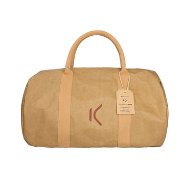 Sportstaske KSIX WeekendBag Eco-friendly kraftpapir Brun