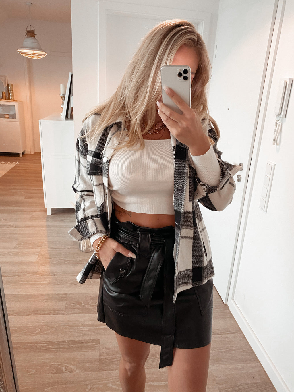 skirt 'leather streetstyle'