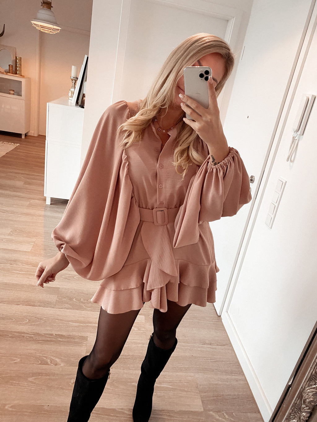 dress 'dream in rosé'