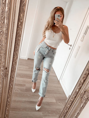 jeans 'mom fit'