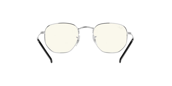 Ray-Ban Hexagonal RB3548 Blue-Light Clear Evolve Sunglasses - Eyeglasses123.com