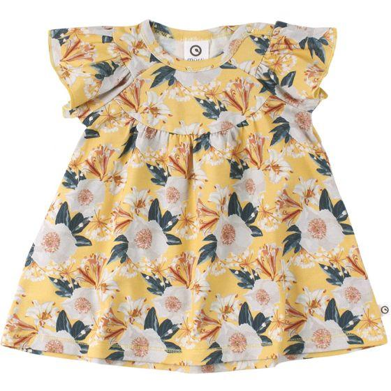 Bloom Gather Dress - Sun