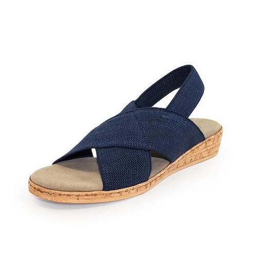 Atlantic Sandal in Navy by Charleston Shoe Company