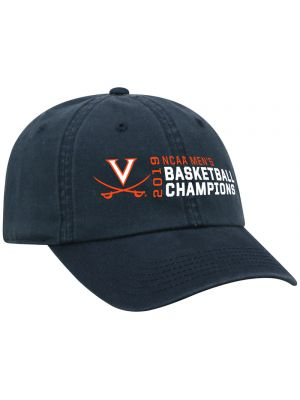 2019 National Champions Navy Offset Adjustable Hat