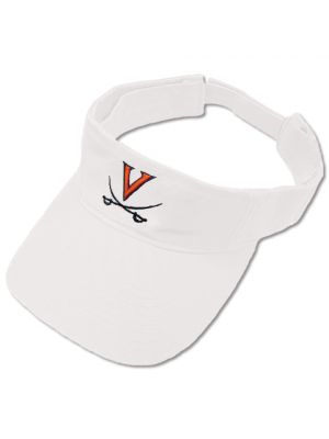 47 Brand White V and Crossed Saber Visor
