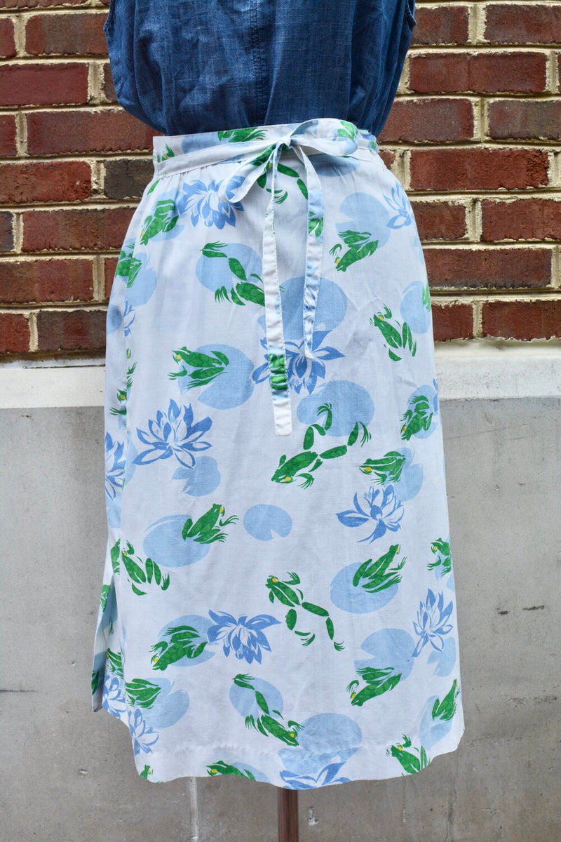 1970's LaVogue Wrap Frog Skirt