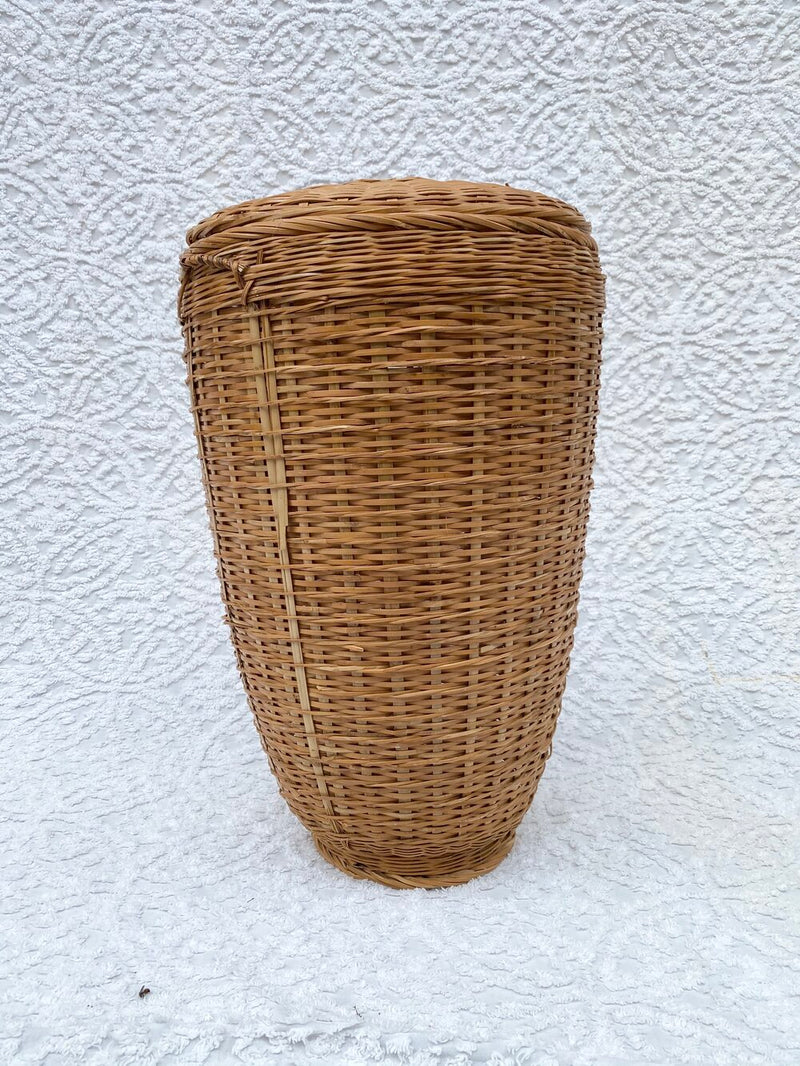 Large Vintage Wicker Basket