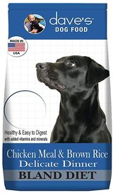 Dave's Restricted Diet Chicken Meal & Brown Rice Delicate Dinner Dry Dog Food