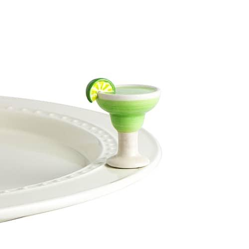 Lime and Salt Please Margarita Glass mini accessory by Nora Fleming