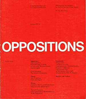Oppositions 12