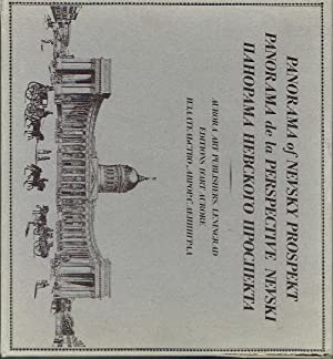Pamorama of Nevsky Prospekt : Reproductions of lithographs after water-colours by V. Sadovnikov produced by I. Ivanov and P. Ivanov and published A. Prévost between 1830 and 1835 [Panorama de la Perspective Nevski] [ ]