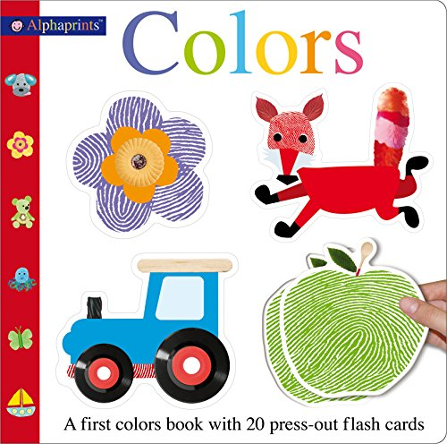Alphaprints Colors Flash card