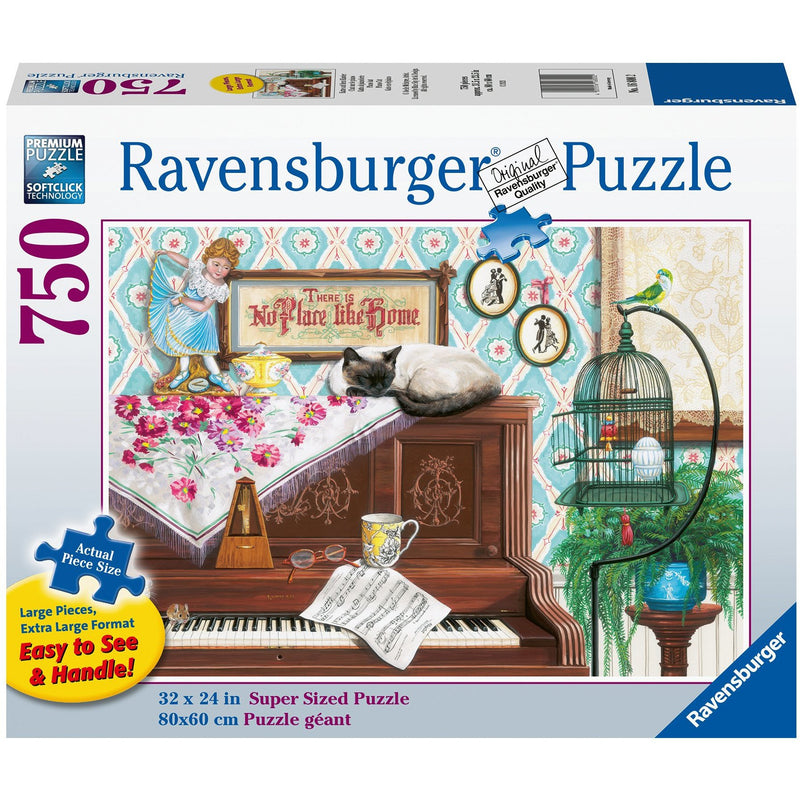 Ravensburger Piano Cat 750 Pc Puzzle (Large Format)