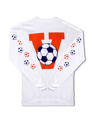 Youth Long Sleeve Virginia Soccer T-Shirt
