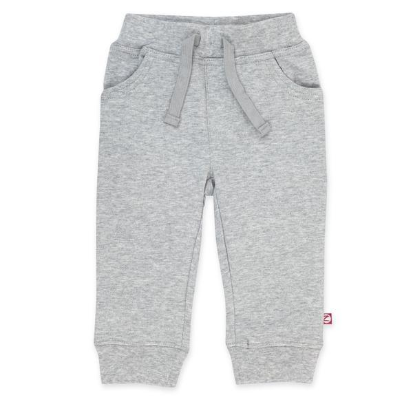 Organic Cotton Jogger Pant - Heather Gray