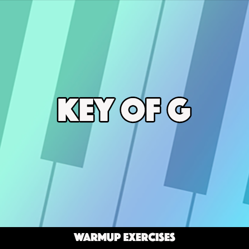 Warmup Exercises in Key of G