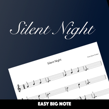 Load image into Gallery viewer, Silent Night (Big Note)