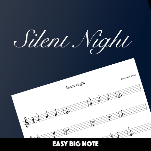 Silent Night (Big Note)