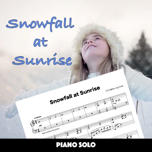 Snowfall At Sunrise (Solo)