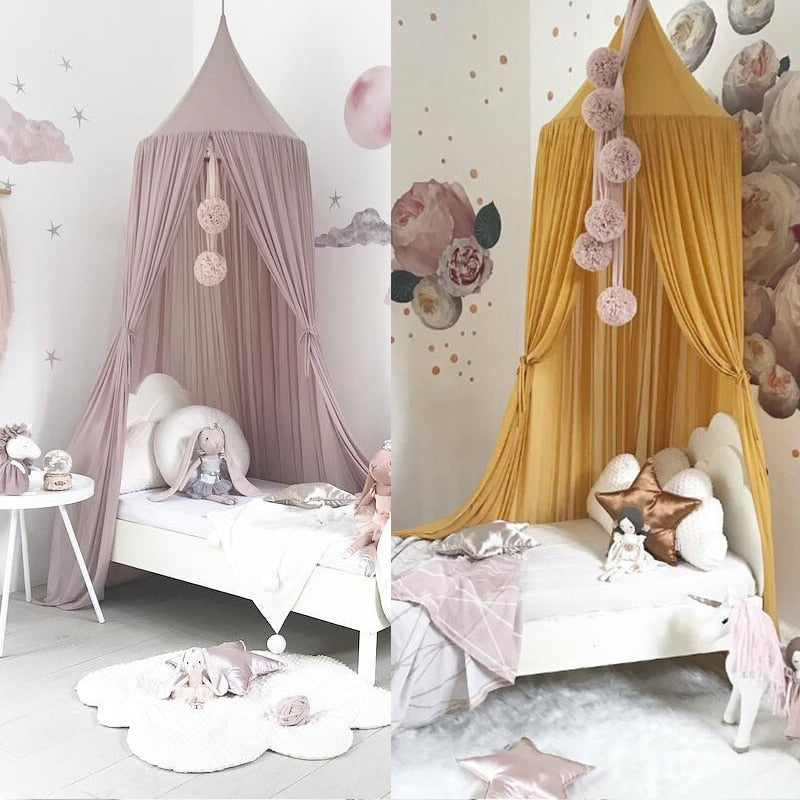 Nordic Style Princess Lace Bed