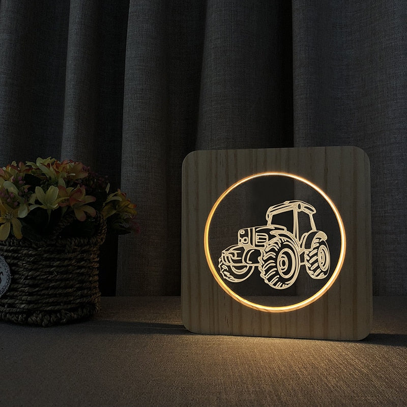 Tractor LED Lamp