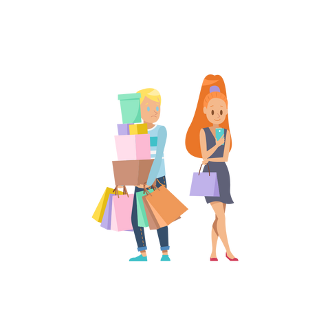 shopping bags online shopping consignment secondhand