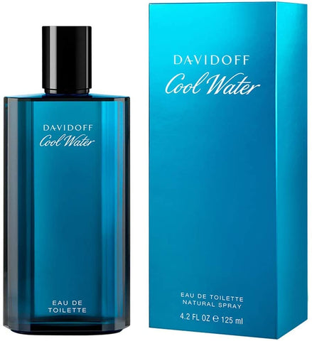 Davidoff Cool Water Eau de toilette Uomo, 125ml