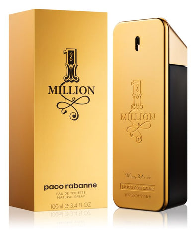 Paco Rabanne 1 Million Eau de Toilette profumo uomo 100 ml