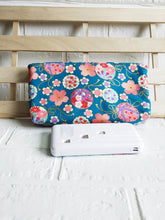 Load image into Gallery viewer, Turquoise Japanese Magnetic Clutch Bag
