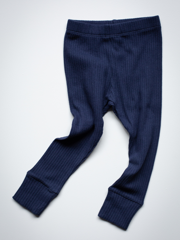Leggings ribbed - Indigo - Simple Folk