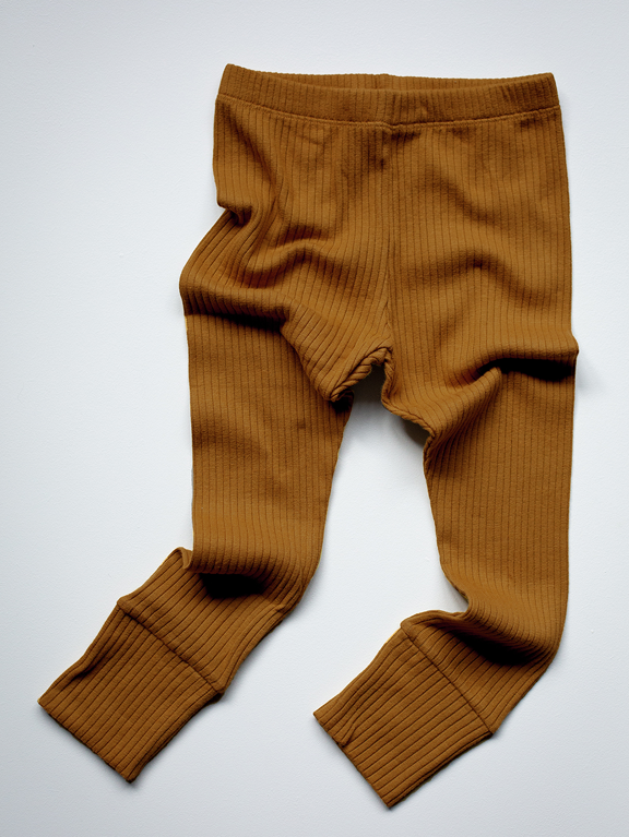 Leggings ribbed - Bronze - Simple Folk