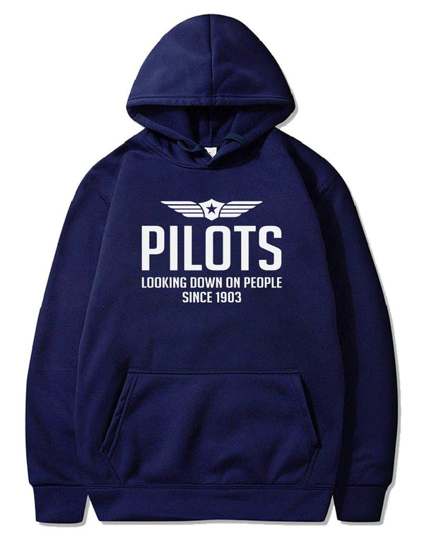 PILOTS LOOKING DOWN ON PEOPLE SINCE 1903  PULLOVER - THE AV8R