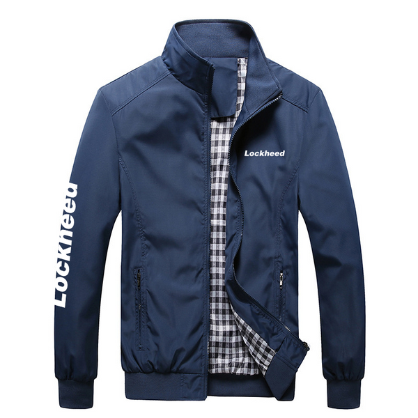 LOCKHEED LOGO AUTUMN JACKET