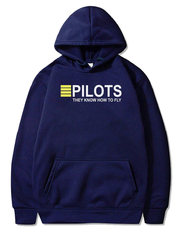 PILOTS THEY KNOW HOW TO FLY PULLOVER - THE AV8R
