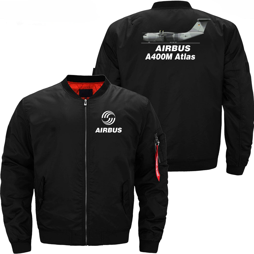 PilotX Jacket Black thin / XS Airbus A400M -US Size