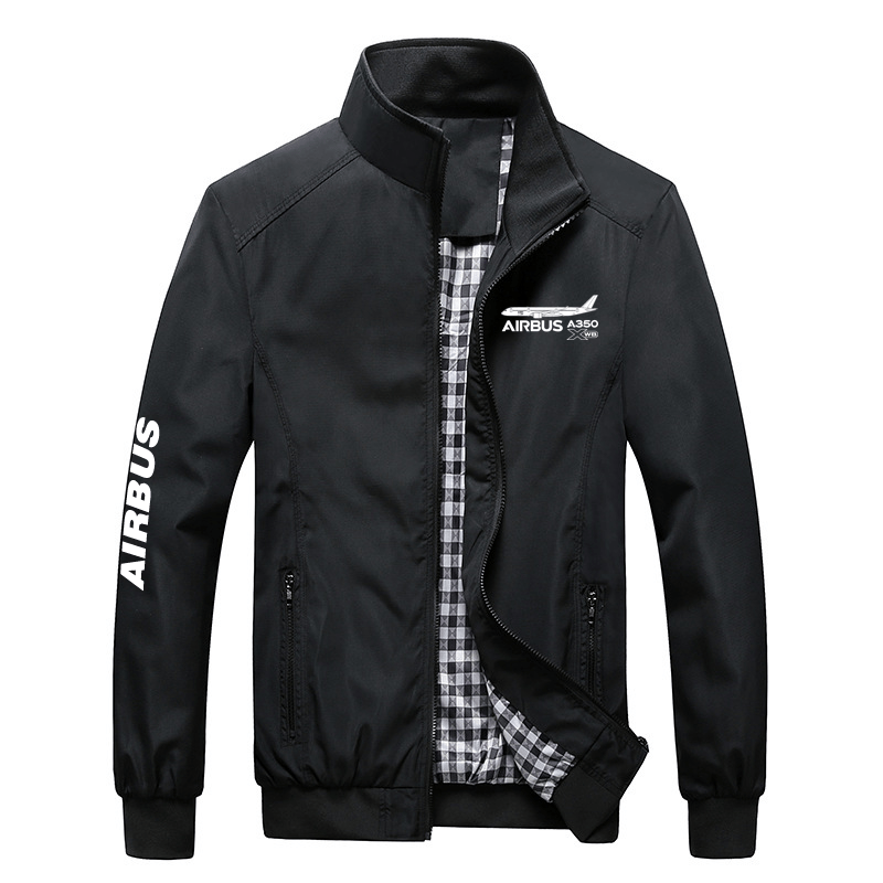 PilotX Summer Jacket Black / S Airbus 350
