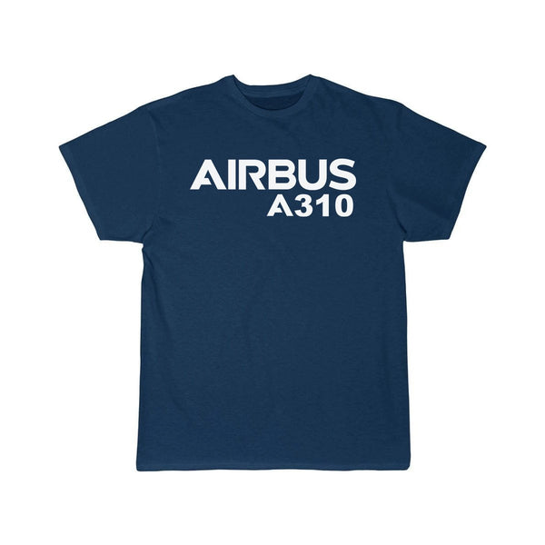 AIRBUS A310 DESIGNED T SHIRT - Navy / S - T-shirts