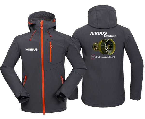 AIRBUS A320 CFM INTERNATIONAL LEAP DESIGNED FLEECE - Dark