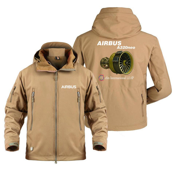 AIRBUS A320 CFM INTERNATIONAL LEAP DESIGNED MILITARY FLEECE