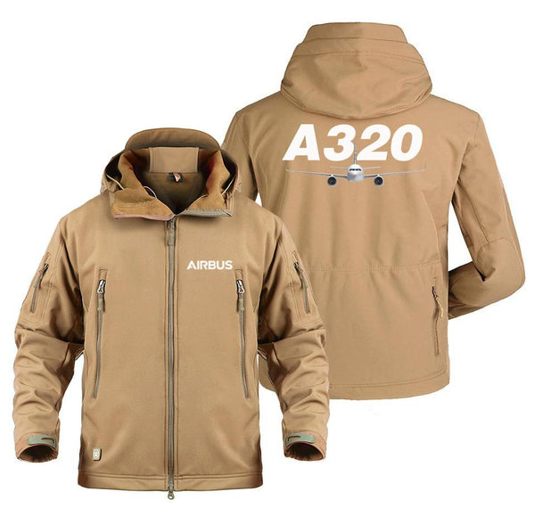 AIRBUS A320 DESIGNED MILITARY FLEECE - Sand / S - Military