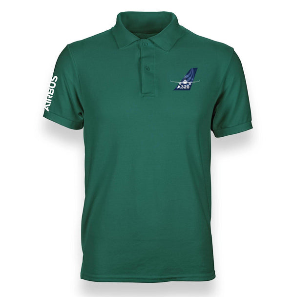 A320 DESIGNED POLO SHIRT - THE AV8R