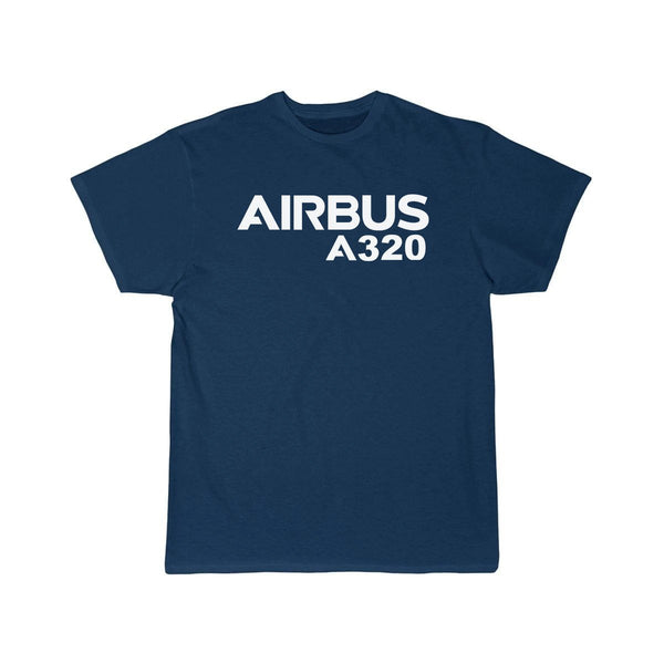 AIRBUS A320 DESIGNED T SHIRT - Navy / S - T-shirts