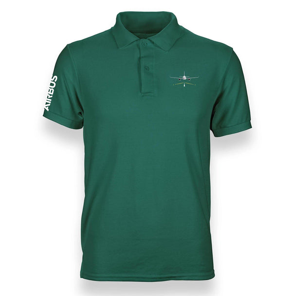 A320 RUNWAY DESIGNED POLO SHIRT - THE AV8R