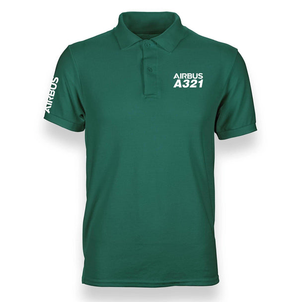 A321 DESIGNED POLO SHIRT - THE AV8R